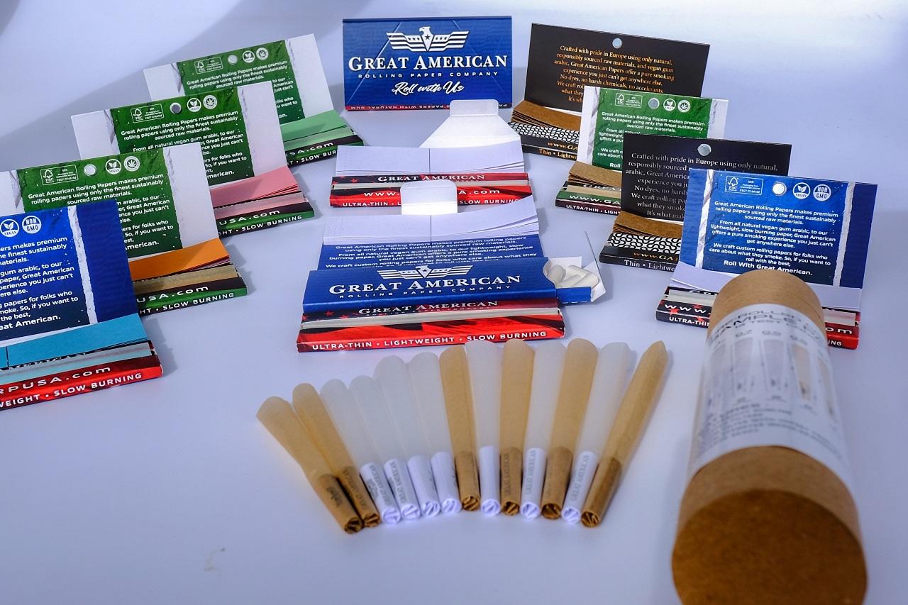 Rolling Paper Booklets Sample Kit