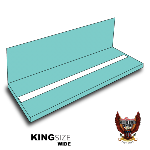 KING SIZE WIDE BOOKLETS